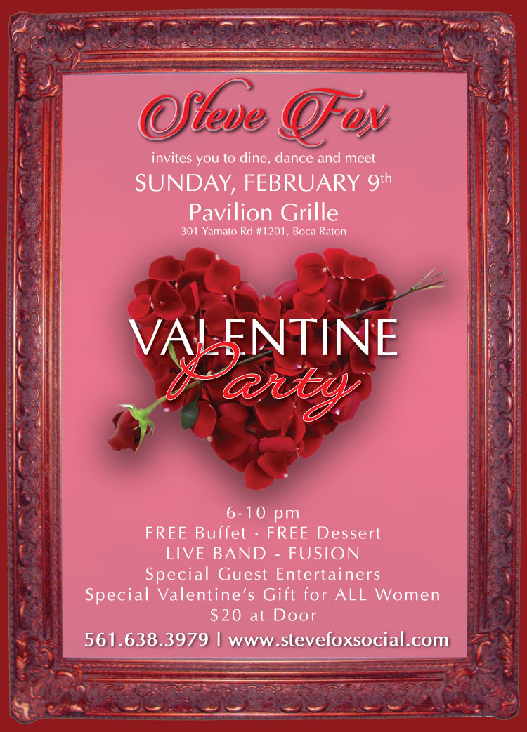 Steve Fox's Valentine Party